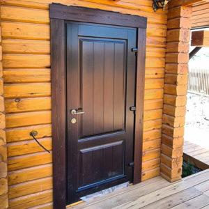 Каталог входных металлических дверей из категории «для бани»