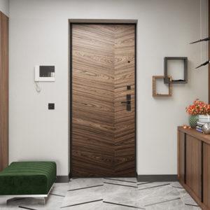 Каталог входных металлических дверей из категории «в квартиру»
