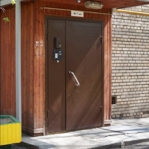 Каталог входных металлических дверей из категории «подъездные»